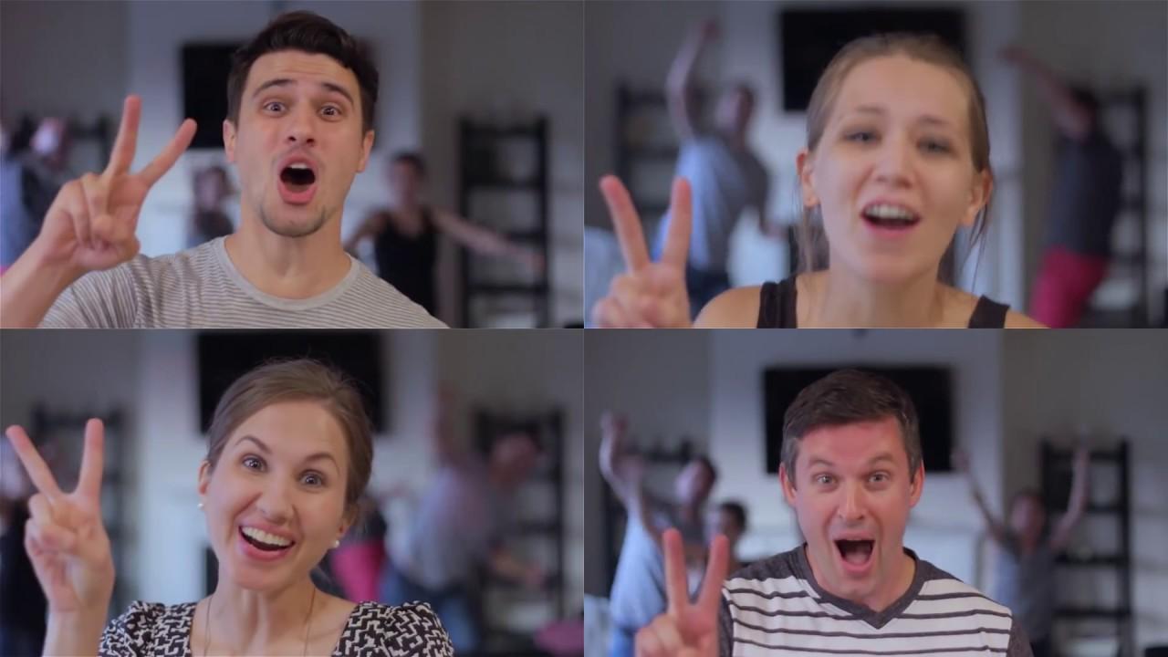 Pregnancy Reveal Parodies Shut Up Dance
