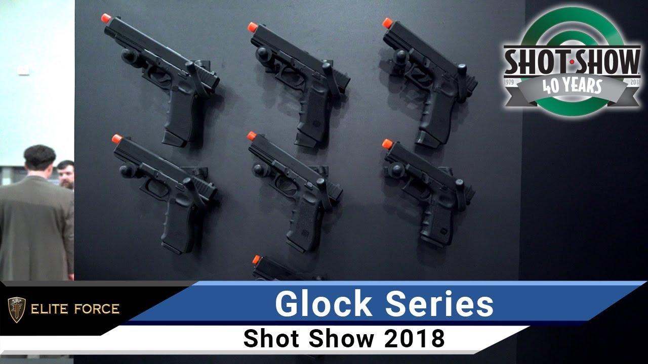 Elite Force Fully Licensed GLOCK 17 Gen 4 Gas Blowback Airsoft Pistol  (Type: Green Gas)