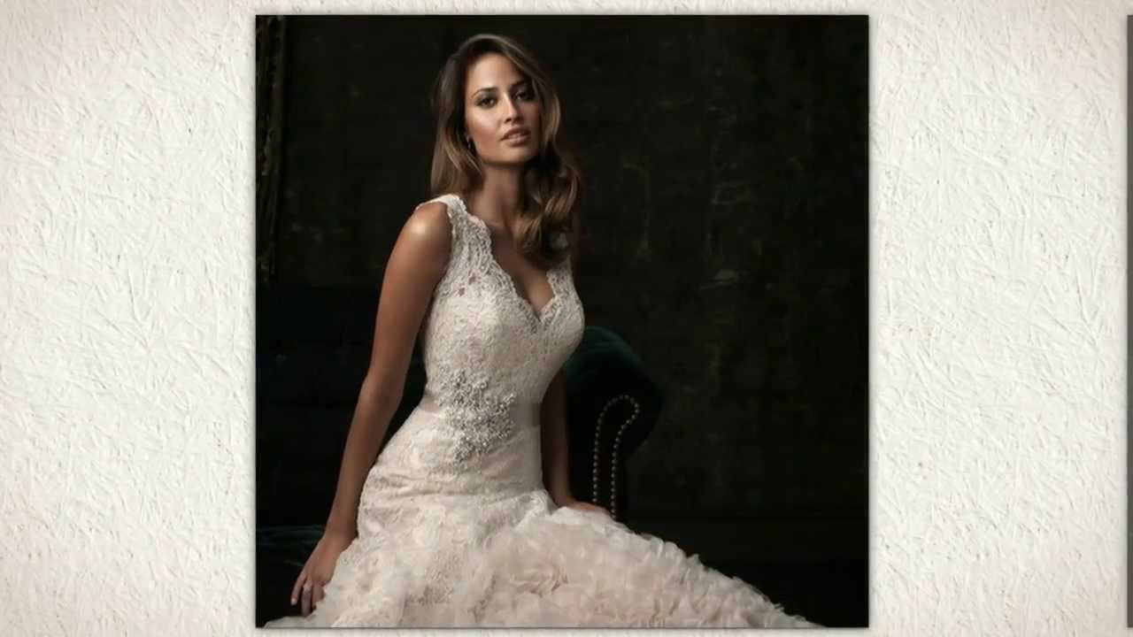 Allure 8961 Wedding Dress - YouTube