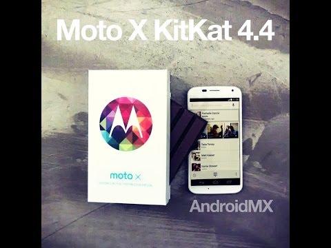 Actualiza tu Moto X a KitKat 4.4