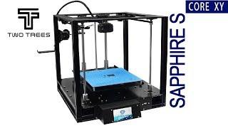3D принтер Sapphire S Cапфир C Ч 1 Распаковка и обзор деталей