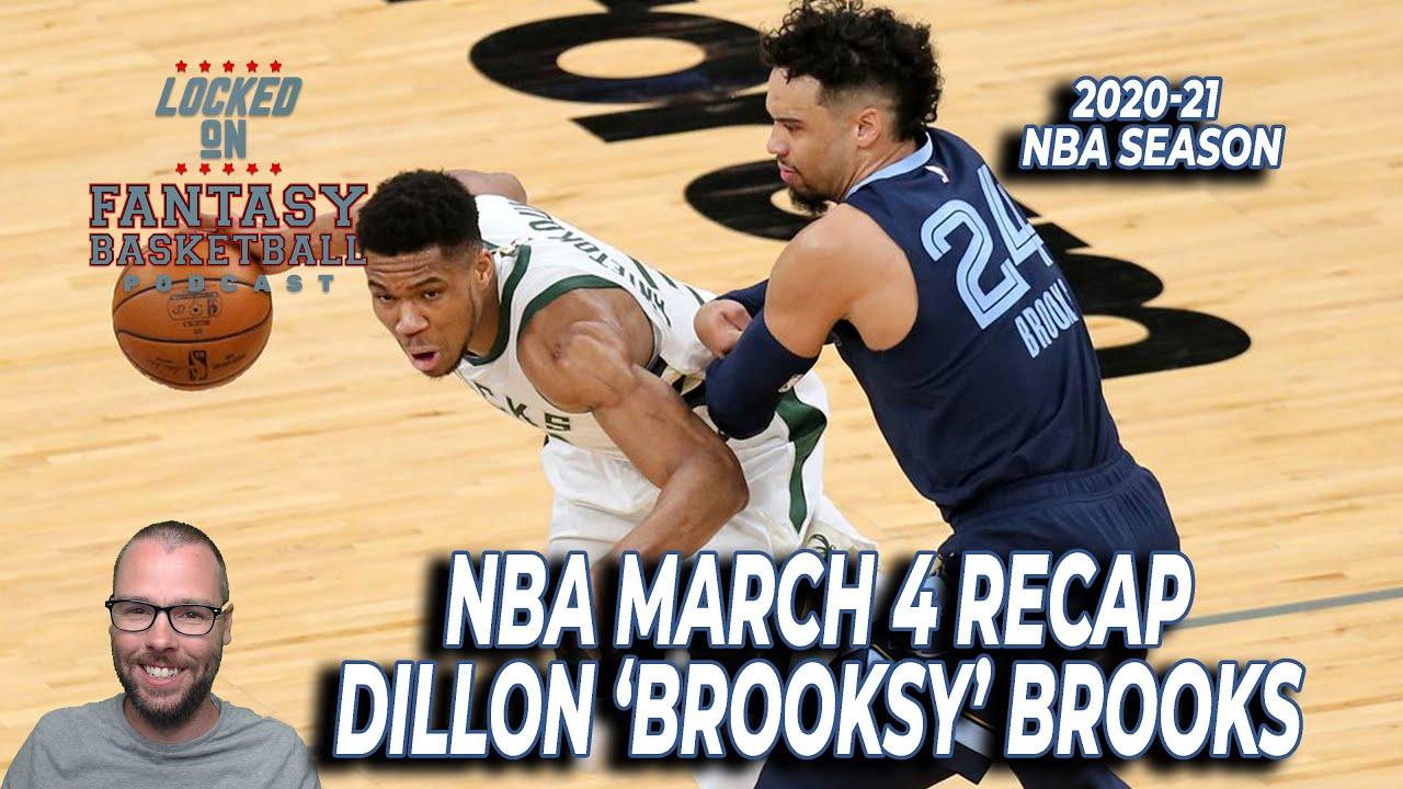 Dillon Brooks Has A Huge Night  | March 4 NBA Recap | NBA Fantasy Basketball
