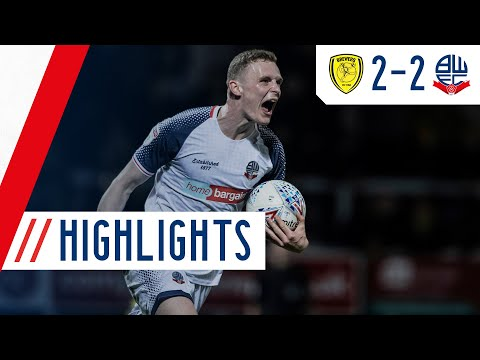 Burton Bolton Goals And Highlights