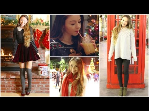 Holiday Outfit Ideas & DIY Butter Beer!