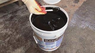 видео Битумная мастика для гидроизоляции