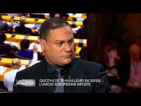 IMMIGRATION :QUOTAS EN SUISSE LE DEBAT HOULEUX TRAUTMANN(PS) /GOLLNISCH (FN)