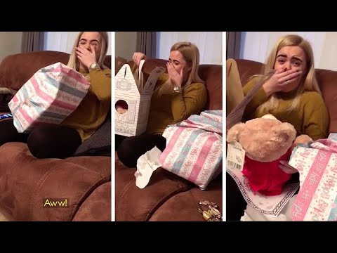 Woman Surprised With Talking Teddy Bear With Late Nan's Voice