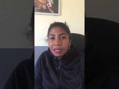 Interview de Felana dans la maison de la nutrition Mahereza à Madagascar