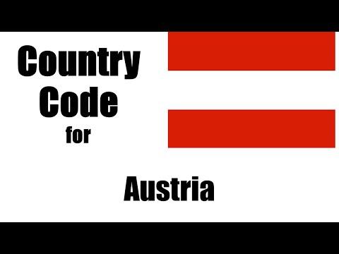Austria Dialing Code - Austrian Country Code - Telephone Area Codes In Austria