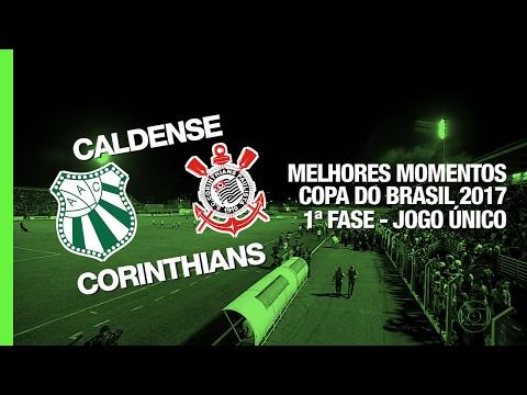 Melhores Momentos - Caldense 0 x 1 Corinthians - Copa do Brasil - 08/02/2017