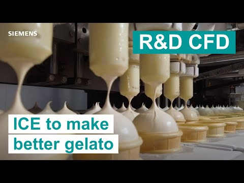 R&D CFD | Making better gelato with CFD technology | Simcenter