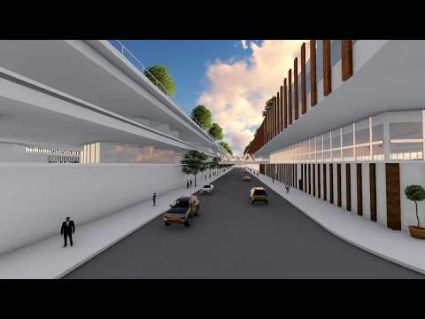 Multi-modal Transportation Hub (Architectural Design 8)