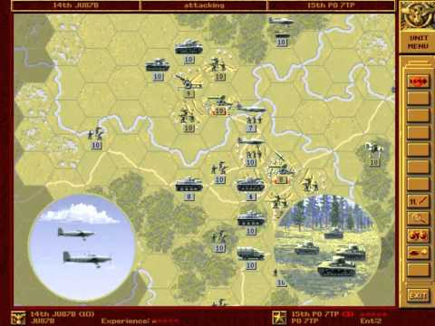Let's Re-Play - Panzer General - The Grand Campaign - 002 - Warsaw - Part 001 - by MrKritik77