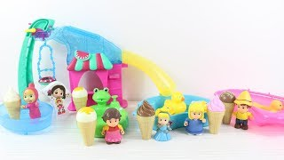Maşalar Havuzda Dondurma Keyfi Yapıyor Eğlenceli Çizgi Film Maşa İzle