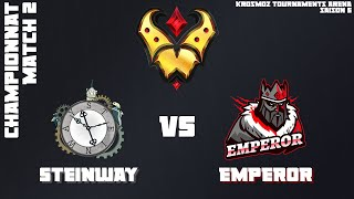 Gold League Championship #3 - Steinway vs Emperor - Match 2