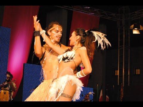 Folk del Mundo 2017. Agrupación Cultural Inanga Rapa Nui.