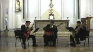 Tchaikovsky The crown of roses - Trio de Guitarras Domine