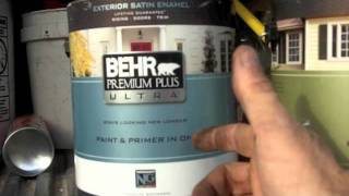 Behr Premium Plus Paint  Fail