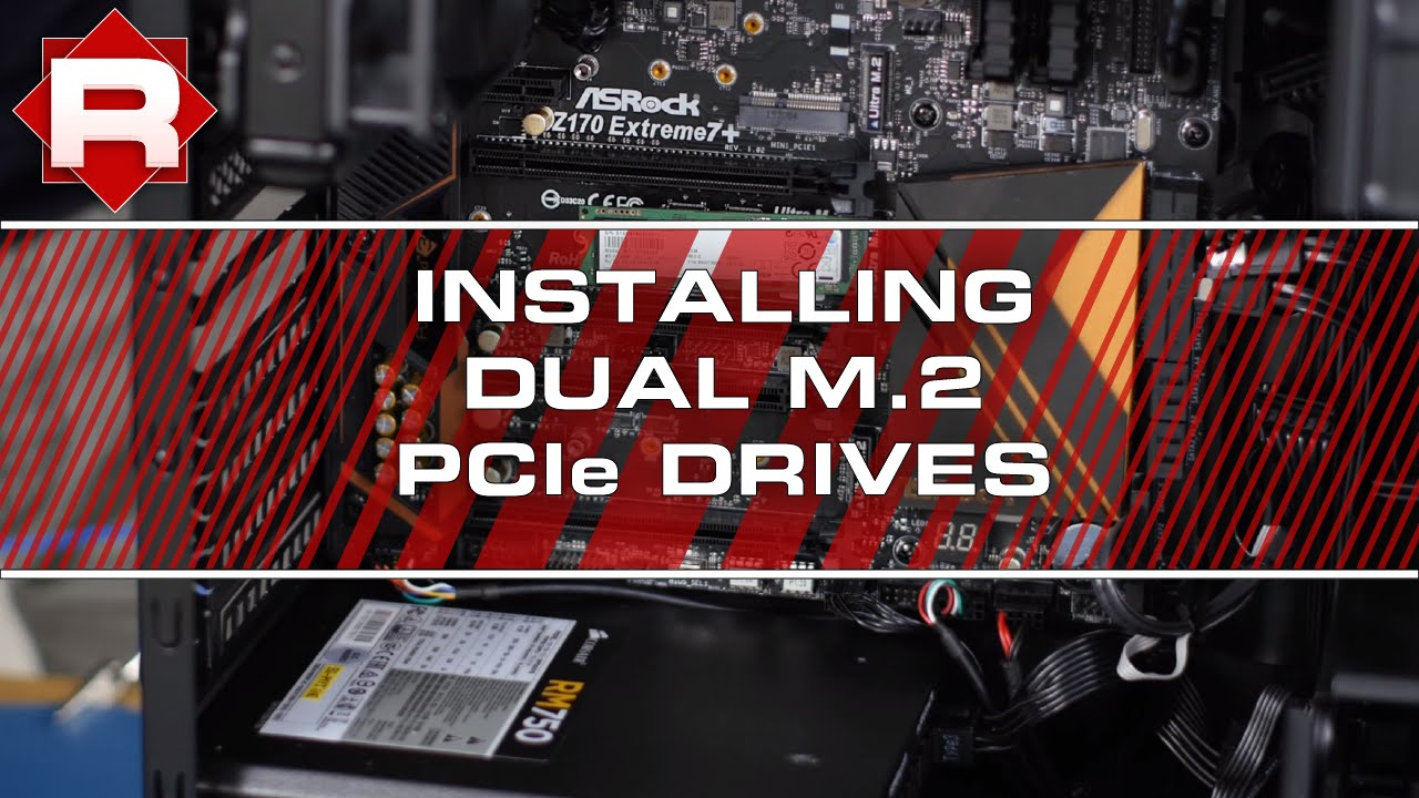 How to setup PCIe M 2 SSD's in RAID on ASRock Z170 Extreme 7+ (hardware  only)