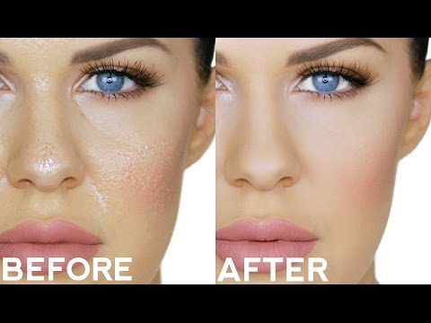 LIFE CHANGING FOUNDATION TRICK FOR OILY SKIN!! STOP YOUR MAKEUP GETTING SHINY!