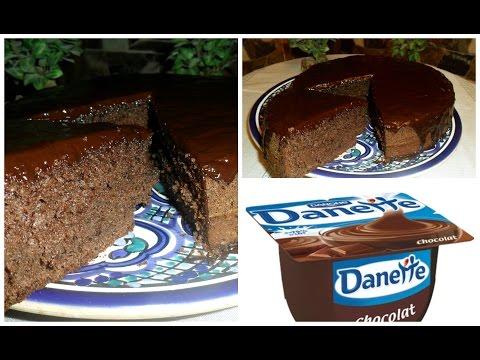 gâteau-au-chocolat-danette-/-chocolat-danette-cake/-recette-facileet-rapide-/easy-and-fast-recipe