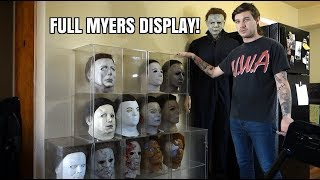 Michael Myers Mask Display!