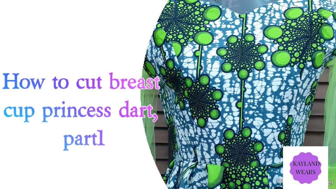 Download How to cut breast cup princess dart, part1