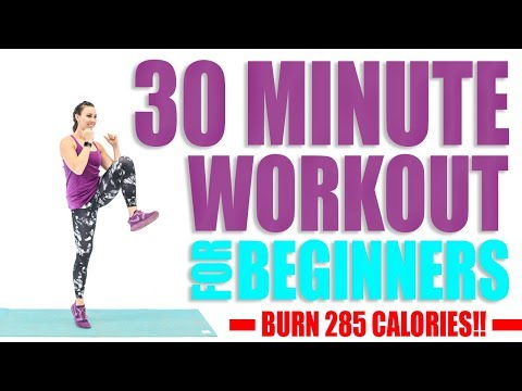 30 Minute Workout For Beginners ��Burn 285 Calories! ��