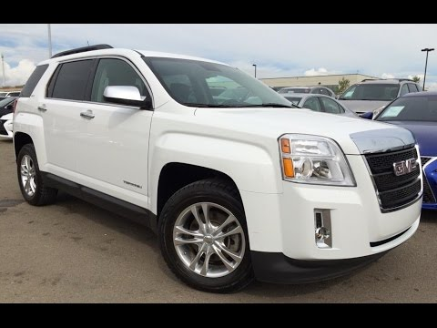 Pre Owned White 2013 Gmc Terrain Awd 4dr Slt 1 In Depth