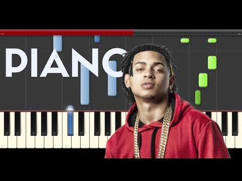 Ozuna Unica Piano Midi tutorial Sheet app Cover Karaoke