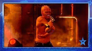 Muy Moi Show ASUSTA al jurado provocándose DOLOR SALVAJE | Semifinal 1 | Got Talent España 2019