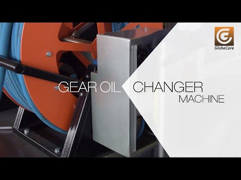Wind turbine maintenance with CMM-GL gear oil changer