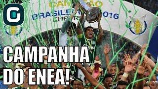 Campanha do Palmeiras - Campeão Brasileiro 2016 | Mesa Redonda (27/11/16)