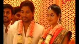 Allu Arjun's - Engagement with - Sneha Reddy