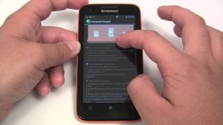 Lenovo S750 unboxing and hands-on
