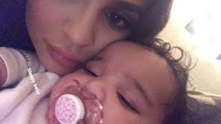 Kylie Jenner Playing in Bed With Dream Kardashian | Full Video