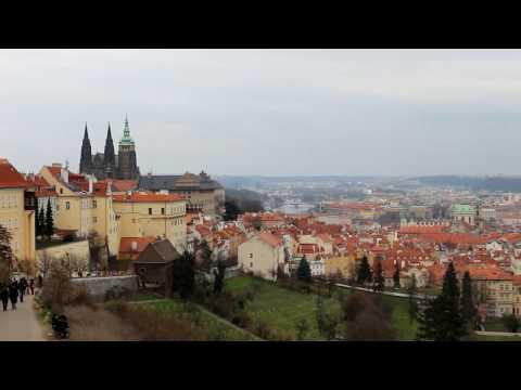 Prague & Dresden in March, Travel tour in HD