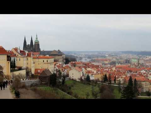 Prague & Dresden in March, Travel tour in HD