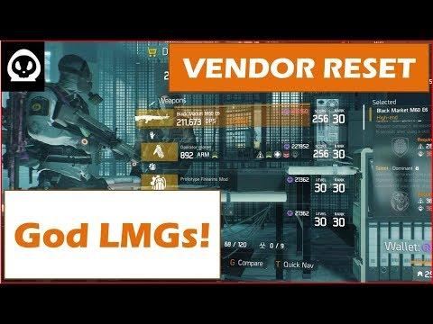 [Gaming] The Division v1.7 - Vendor Reset   God LMGs! [30.09.2017]