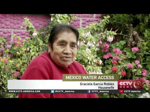 Rain recycling system could solve Mexico