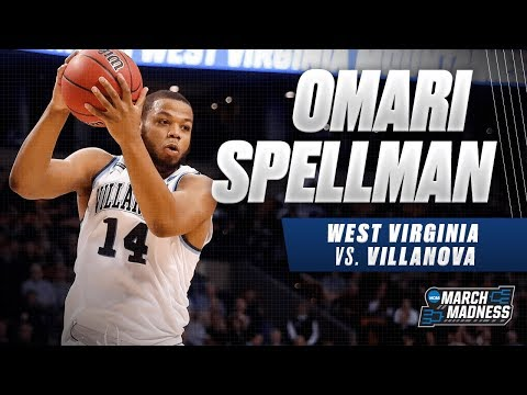 Villanovas Omari Spellman flirts with a doubledouble in the Sweet 16 victory