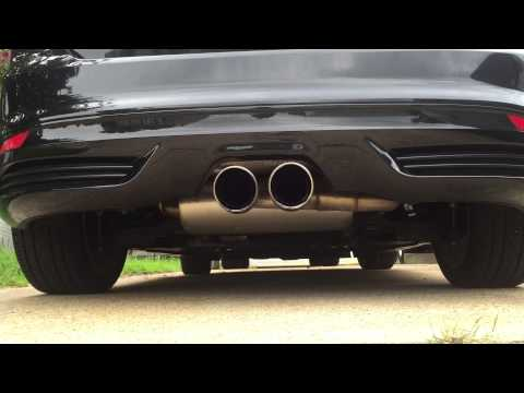 2014 Ford Focus ST with Ford Racing cat-back exhaust