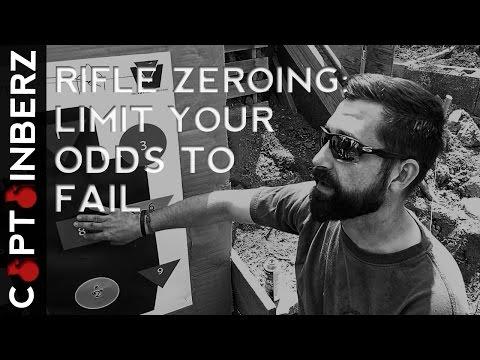 Rifle Zeroing: Limit Your Chances to Fail
