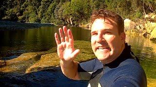 Secret Swimming Hole - South Island, New Zealand
