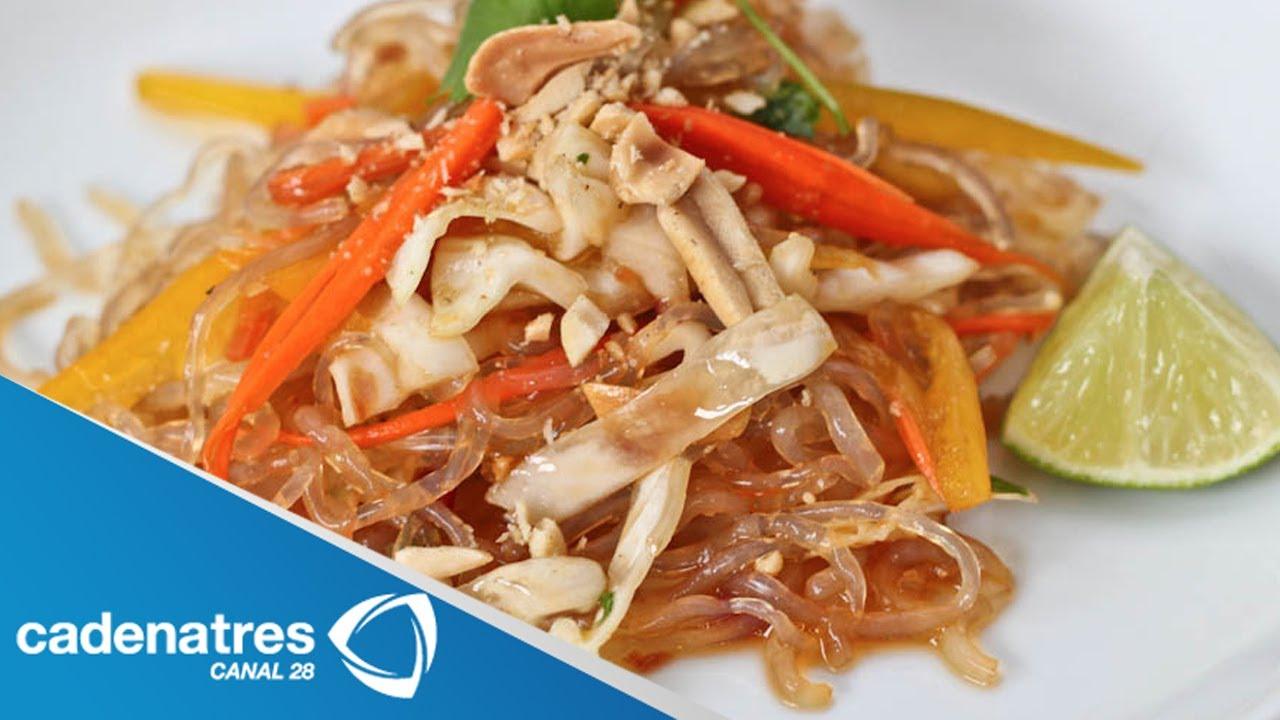 Receta para preparar pad thai noodles comida tailand s for Resetas para preparar comida