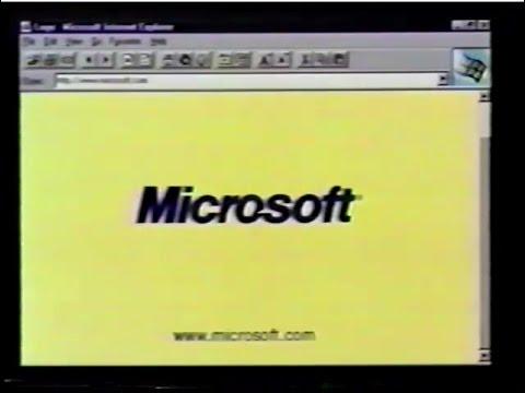 Internet Explorer 1.0 Commercial (1995)