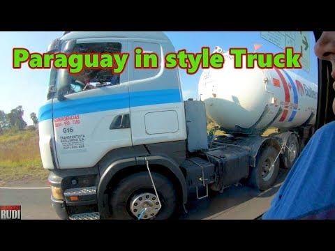 Paraguay in style Truck Trucker Rudi 08-18-18 Vlog#1505
