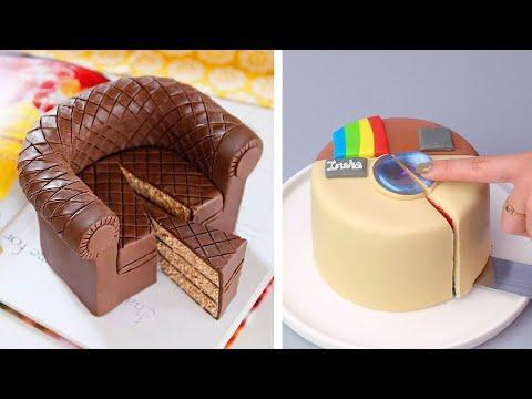 Top Fondant Cake Compilation   Easy Cake Decorating Ideas   So Tasty Chocolate Cakes Recipes