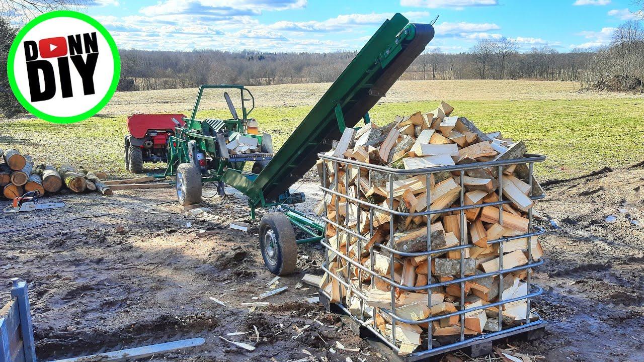 Hauling, Cutting, Splitting & Storing Firewood