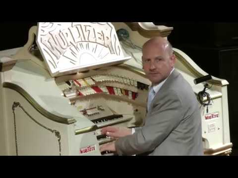 John Bowdler At The Mighty Wurlitzer In The Tower Ballroom Blackpool.